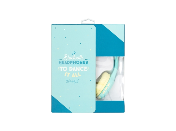 51876e50f2e Auriculares Bluetooth MR. WONDERFUL Smile (On ear - Azul) - WORTEN