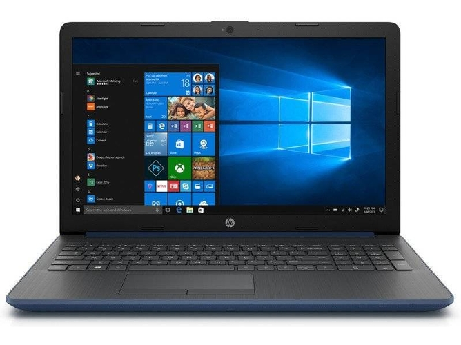 Portátil HP 15-DA0249NS - 8PJ15EA (15.6'' - Intel Core i3-7020U - RAM: 8 GB - 512 GB SSD - Intel HD 620) — Windows 10 Home | HD