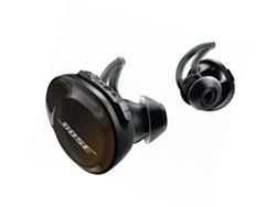 Auriculares Bluetooth True Wireless BOSE SoundSport Free (In ear - Micrófono - Atiende llamadas - Negro)
