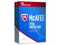 Antivirus MCAFEE Total Protection 2017 - 10 Licencias, 12 meses