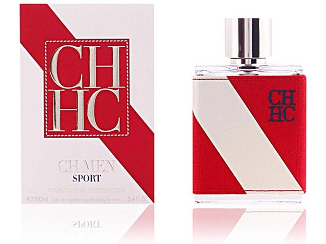 Men Carolina 100mleau Herrera Sport De Ch Perfume Toilette W2DH9EI