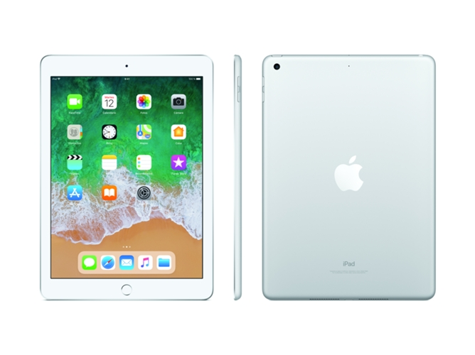 iPad APPLE Plata (9.7'' - 32 GB - Chip A10 Fusion) — iOS 10 | Full HD