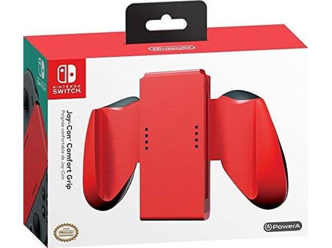 Mando Nintendo Switch JOY-CON Comfort Grip Rojo — Nintendo Switch