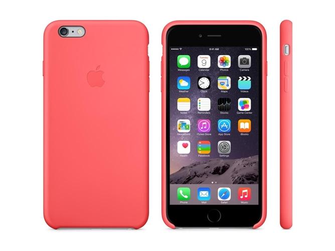 carcasa iphone 6s rosa