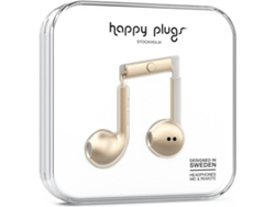 Auriculares HAPPY PLUGS Plus Champagne (Beige)