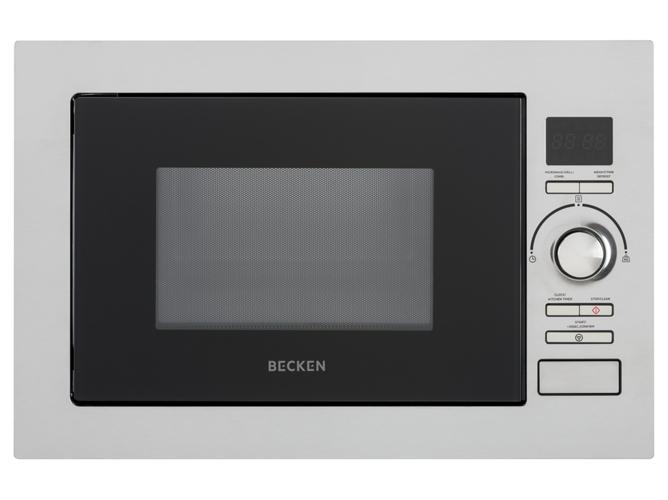 Microondas integrable becken bbimw2515ix 25 l con grill inox worten - Microondas de encastrar ...