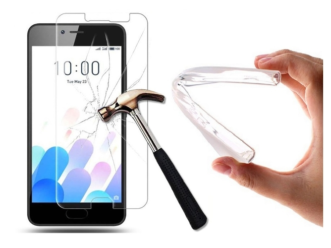 Carcasa Meizu M5 MULTISHOP Gel Transparente