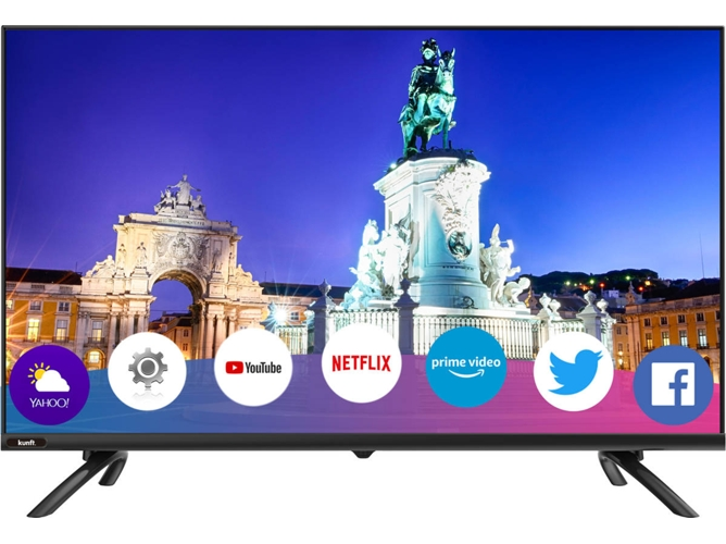 TV KUNFT K5133H43U (LED - 43'' - 109 cm - 4K Ultra HD - Smart TV) — Basic