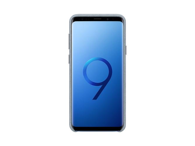 8b2f8f6e53a Funda SAMSUNG Alcantara Cover para Galaxy S9 Plus Verde Menta   eBay