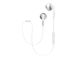 Auriculares Bluetooth PHILIPS SHB5250WT (In ear - Micrófono - Atiende llamadas - Blanco) — In Ear