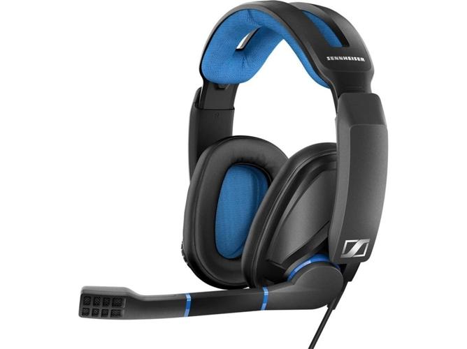 46de61bf6b0 Auriculares Gaming Con cable SENNHEISER GSP 300 (Cancelación de Ruído - Con  Micrófono)