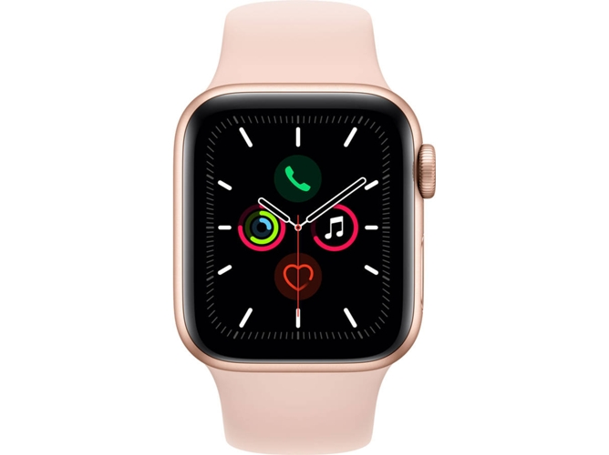 APPLE Watch Series 5 GPS 40 mm Aluminio oro, Rosa