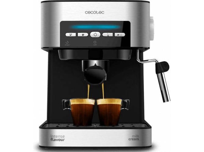 Cafetera Automática CECOTEC Power Espresso 20 Matic (20 bar Café molido)