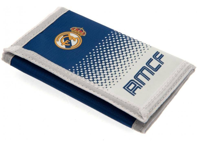 Cartera REAL MADRID FC Touch Fastening Fade Design