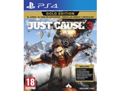 Preventa PS4 Just Cause 3 Gold Edition
