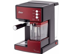 Cafetera Expresso Manual OSTER BVSTEM6601R Rojo