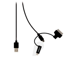 Cable VALUELINE 2.0 Micro USB B USB A Negro