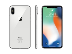 iPhone X APPLE 64 GB Plata