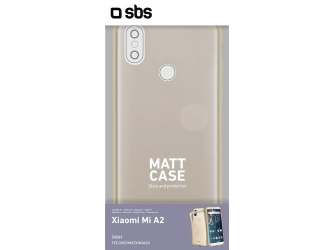 a582e448077 Carcasa Xiaomi Mi A2 SBS Matt Dorado