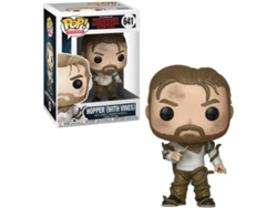 Figura Vinilo FUNKO POP! Stranger Things: Hopper con Vines — Altura: 10 cm