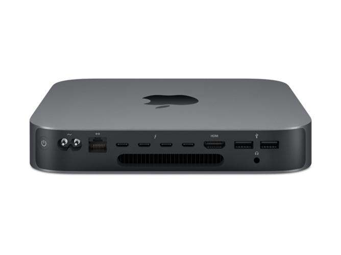Mac Mini 2018 (Intel Core i3, RAM: 8 GB, Disco duro: 128 GB, Intel UHD 630) Gris espacial