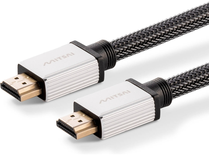 Cable de Vídeo HDMI MITSAI (Macho-Macho) Platinum 3M — 3 m