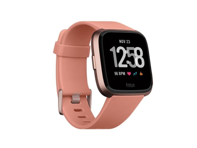 d2b4ba3f1 Reloj deportivo FITBIT Versa (Bluetooth - 4 días de autonomía - Pantalla  táctil - Rosa)