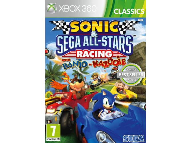Juego Xbox 360 Sonic All-Stars Racing