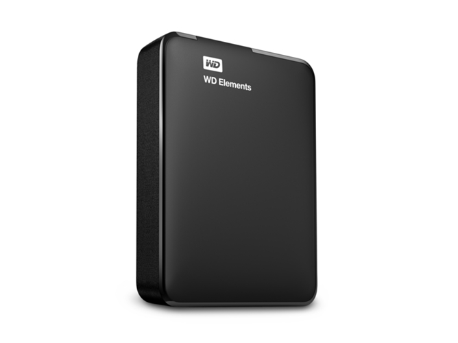 Disco HDD Externo WD Elements 2 TB — 2.5'' | 2 TB | Negro