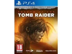 PS4 Shadow Of The Tomb Raider Croft ED