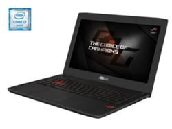 Portátil Gaming 15,6'' ASUS Rog GL502VS-GZ120T  ( i7-7700, 32 GB RAM, 1 TB HDD + 512 GB SSD, nVidia GeForce GTX)