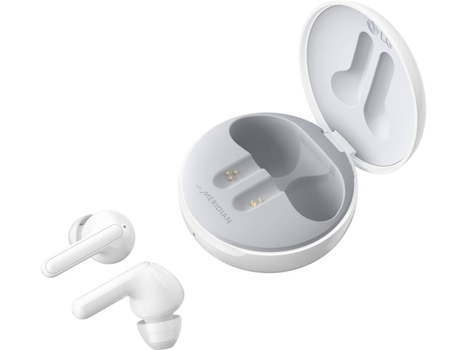 Auriculares Bluetooth True Wireless LG HBS-FN4W (In Ear - Blanco)