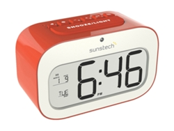 Despertador SUNSTECH CKD30RD Rojo