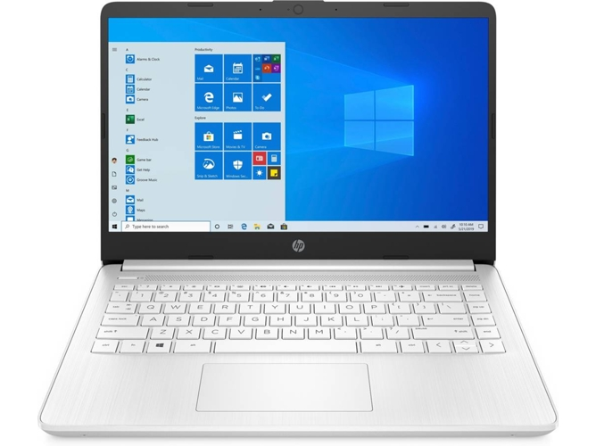 Portátil HP 14S-DQ0010NS (14'' - Intel Celeron N4020 - RAM: 4 GB - 64 GB eMMC - Intel UHD Graphics)
