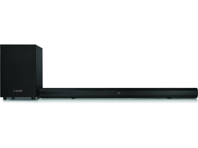 Barra de Sonido KUBO KSBS3789 (80 W - Canales: 2.1 - Subwoofer: inalámbrico - Bluetooth)