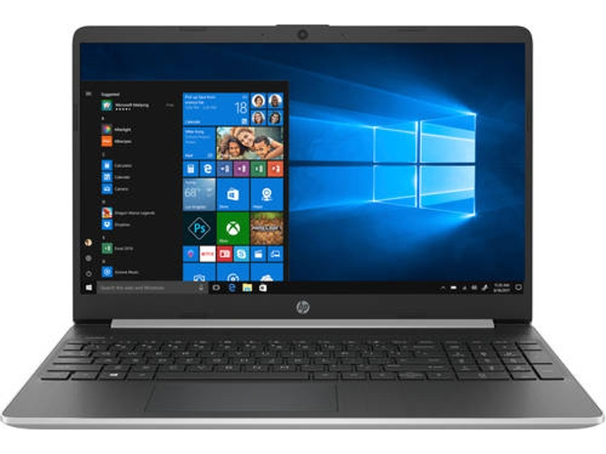 Portátil HP 15S-FQ1034NS - 8PK43EA (15.6'' - Intel Core i5-1035G1 - RAM: 8 GB - 512 GB SSD - Intel UHD) — Windows 10 Home | HD