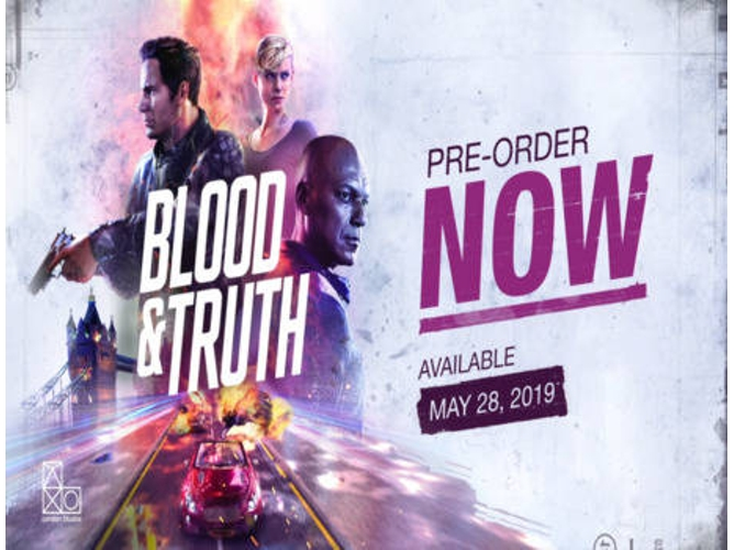 Juego PS VR Blood & Truth (Acción - M18)