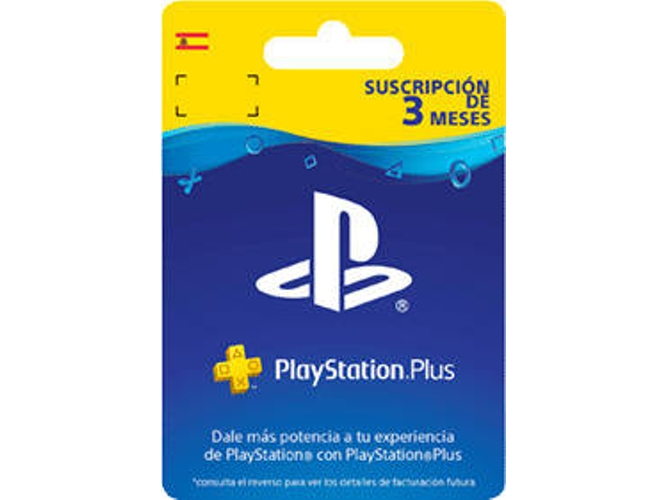 Tarjeta Playstation Plus - Subscripción de 3 Meses (Formato Digital)