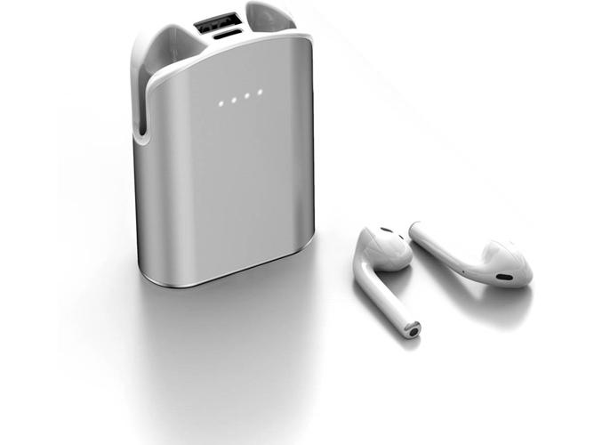 Auriculares Bluetooth True Wireless LAMZIEN G01 (In-Ear - Micrófono - 5000mAh - Blanco)