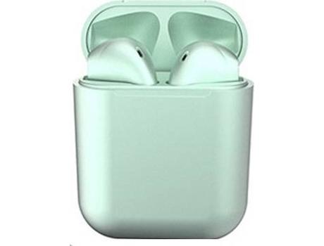 Auriculares Bluetooth True Wireless KLACK InPods 12 (In Ear - Verde Metalizado)