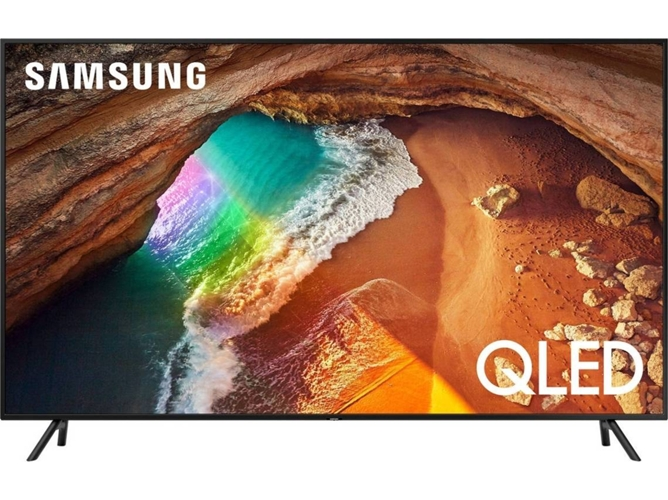 TV SAMSUNG QE75Q60RATXXC (QLED - 75'' - 191 cm - 4K Ultra HD - Smart TV) — Cinéfilos - Sport - Casual Gaming