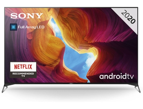 TV SONY KD-65XH9505 (LED - 65'' - 165 cm - 4K Ultra HD - Smart TV) — Premium Cine - Sport - Élite Gaming