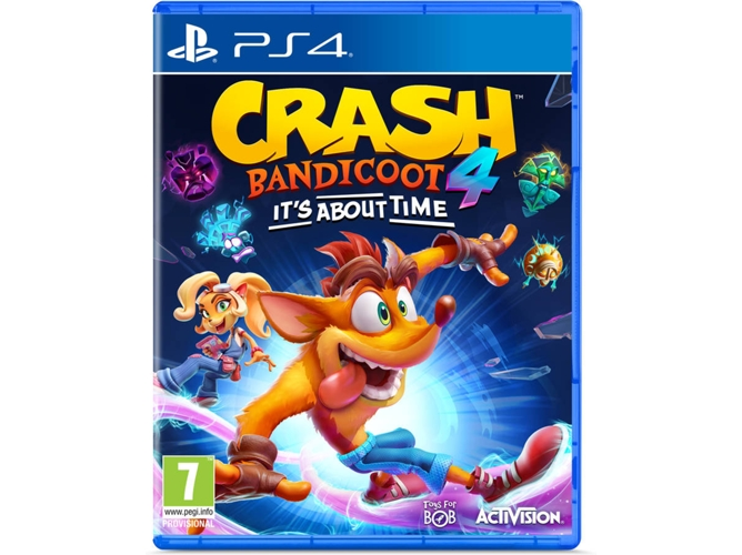 Juego PS4 Crash Bandicoot 4 It´s about time (Aventura - M7)