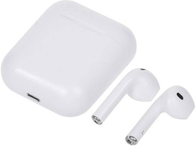 Auriculares Bluetooth True Wireless WISETONY i13 (In-Ear - Micrófono - Blanco)
