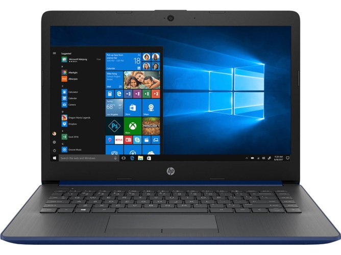 Portátil HP 14-CM0005NS - 4XZ45EA (14'' - AMD A4-9125 - RAM: 4 GB - 64 GB eMMC - AMD Radeon R3) — Windows 10 Home | HD