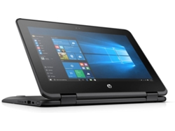 Portátil HP 11 G1 EE - 5TJ82EA (11.6'' - Intel Celeron N3350 - RAM: 4 GB - 128 GB SSD - Intel HD 500) — Windows 10 Pro | HD