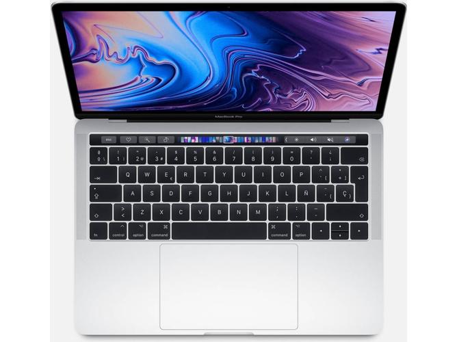 MacBook Pro 2019 APPLE Plata - MUHR2Y/A (13.3'' - Intel Core i5 - RAM: 8 GB - 256 GB SSD - Intel Iris Plus 645)