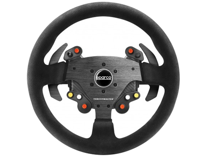 Volante Universal THRUSTMASTER Add-On Sparco R383 Mod — Compatibilidad: Pc, PS3, PS4 y Xbox One | Sin pedales