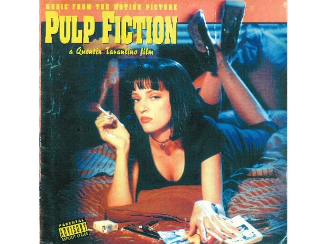 CD Varios - Music From The Motion Picture Pulp Fiction