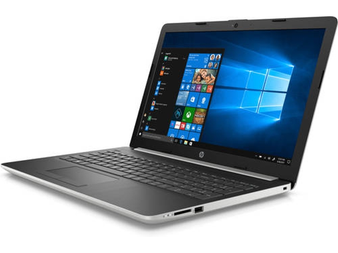 Portátil HP Notebook 15-DA0109NS (15.6'' - Intel Core i7-8550U - RAM: 8 GB - 256 GB SSD PCIe - NVIDIA GeForce MX130) — Windows 10 Home | HD